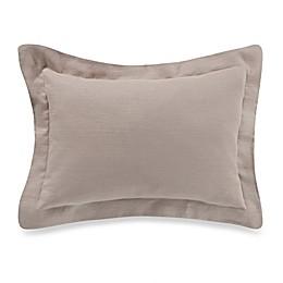 Bellora® Basil 12-Inch x 18-Inch Oblong Throw Pillow in Beige