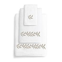 Autumn Leaves Turkish Cotton 3-Piece Towel Set