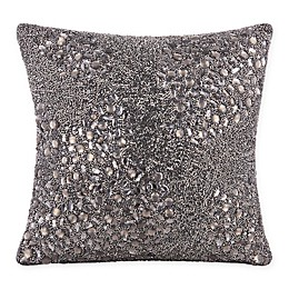 Mina Victory Square Fully Beaded Square Throw Pillow