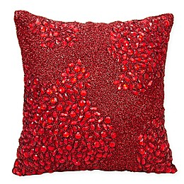 Mina Victory Fully Beaded Square Throw Pillow Collection