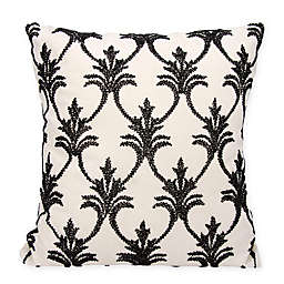 Mina Victory Fleur De Lis 18-Inch Square Throw Pillow Collection