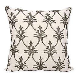 Mina Victory Fleur De Lis 18-Inch Square Throw Pillow Collection