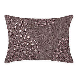 Mina Victory Luminescence Fully Beaded Rectangle Throw Pillow Collection