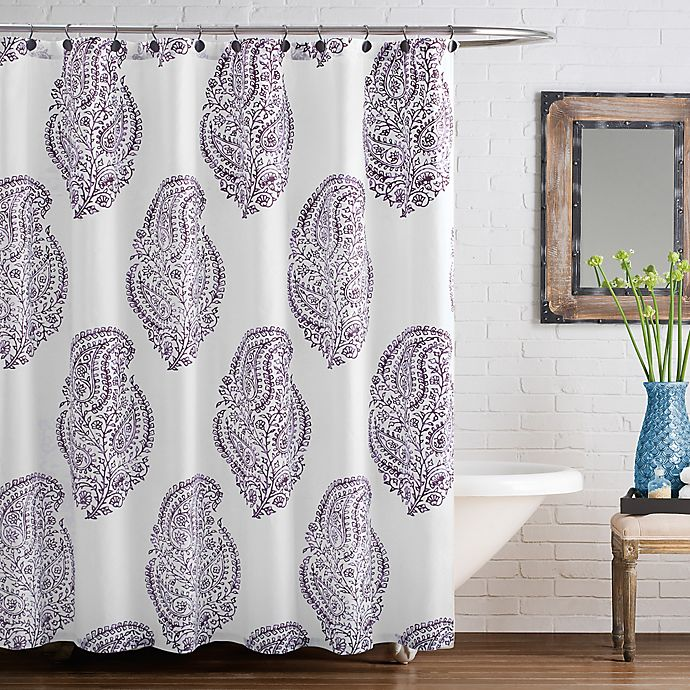 Alternate image 1 for Anthology™ Arianna 54-Inch x 78-Inch Shower Curtain