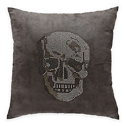 Mina Victory Luminescence Rhinestone Skull Square Throw Pillow Collection
