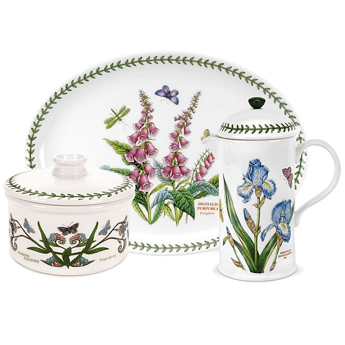 Alternate image 1 for Portmeirion® Botanic Garden Bakeware and Serveware Collection