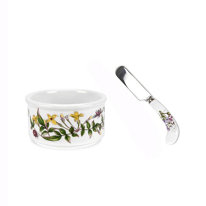Alternate image 1 for Portmeirion® Botanic Garden Ramekin and Spreader Set