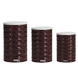 Hershey's by Fitz and Floyd® Pip Canister in Maroon