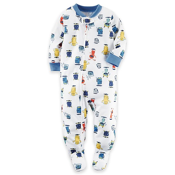 46e8442b0 Carters Baby Boys 2-Pack Cotton Footed Pajamas Carter   s best ...
