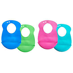 Tommee Tippee Roll 'n' Go 2-Pack Drip Catcher Bibs