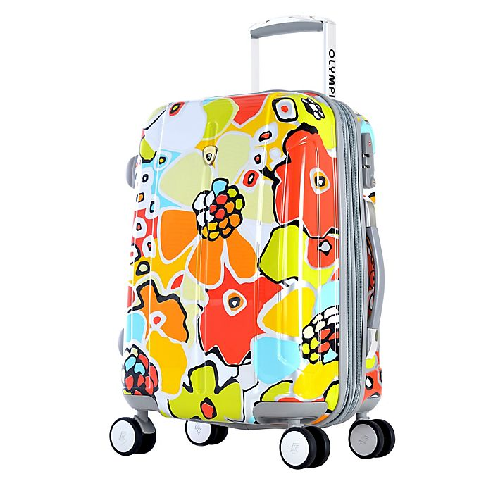 Olympia 174 Usa Blossom Ii 25 Inch Hardcase Spinner Suitcase