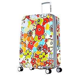 Olympia® USA Blossom II 29-Inch Hardcase Spinner Suitcase in Aqua