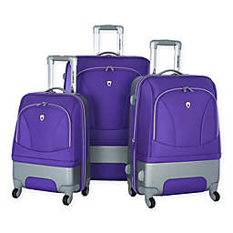 Olympia® USA Majestic 3-Piece Hybrid Spinner Luggage Set
