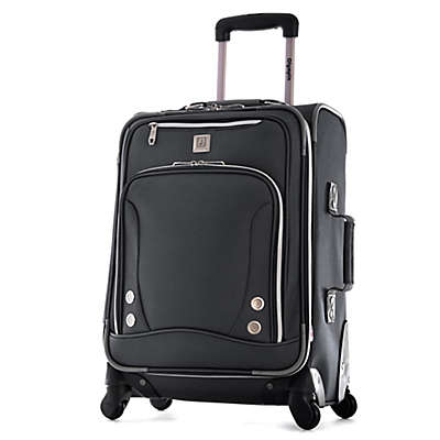 Olympia® USA Skyhawks 22-Inch Spinner Carry On Luggage in Black