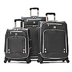 Olympia® USA Skyhawks 3-Piece Spinner Luggage Set in Black