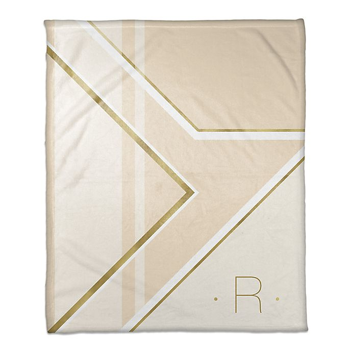 Alternate image 1 for Deco Throw Blanket in Ivory/Cream