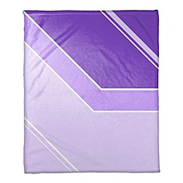 Gradient Throw Blanket in Purple