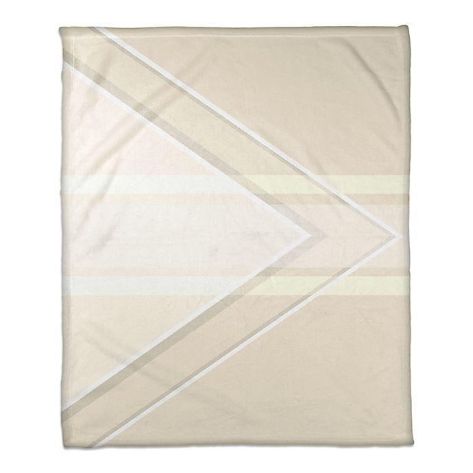Alternate image 1 for Balance Pattern Throw Blanket in Ivory/Cream