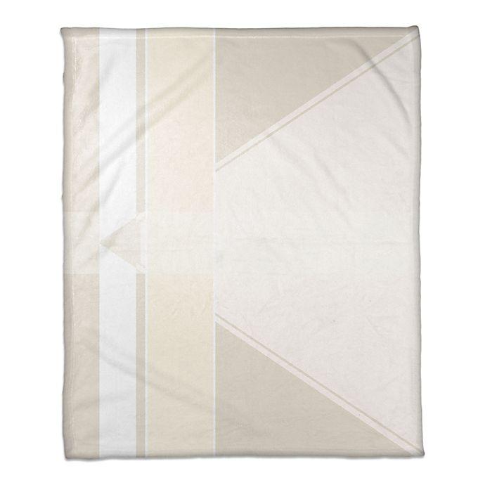 Alternate image 1 for Multi Shade Throw Blanket in Ivory/Cream