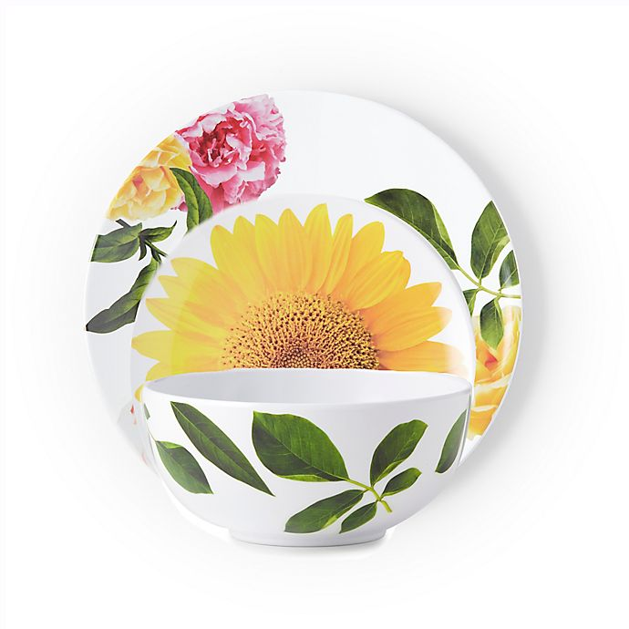 Alternate image 1 for kate spade new york Patio Floral Dinnerware Collection