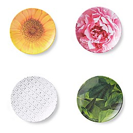 kate spade new york Patio Floral Tidbit Plates (Set of 4)