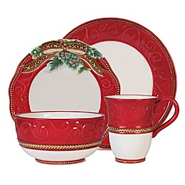 Fitz and Floyd® Yuletide Holiday Dinnerware Collection