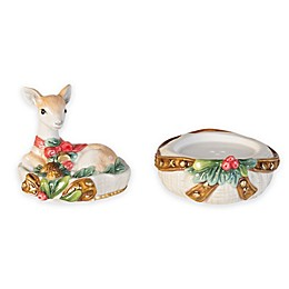 Fitz and Floyd® Yuletide Holiday Salt and Pepper Shakers