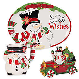 Fitz and Floyd® Top Hat Frosty Serveware Collection