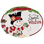 Fitz and Floyd® Top Hat Frosty  Sweet Wishes  Cookie Platter