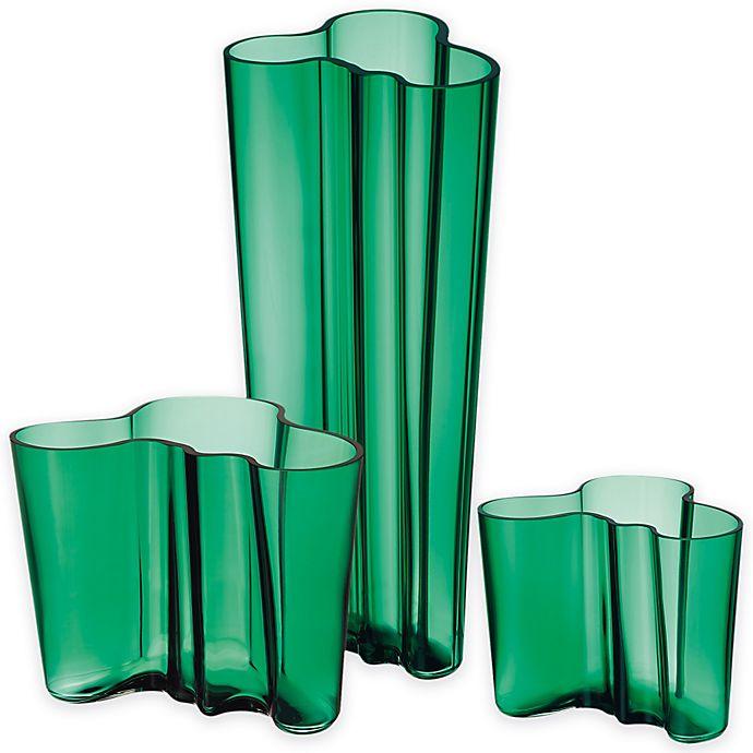 Alternate image 1 for Iittala Alvar Aalto Finlandia Vase in Emerald