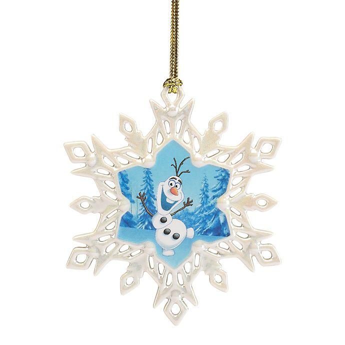 Lenox Christmas Ornaments.Lenox Disney Frozen Olaf Snowflake Christmas Ornament