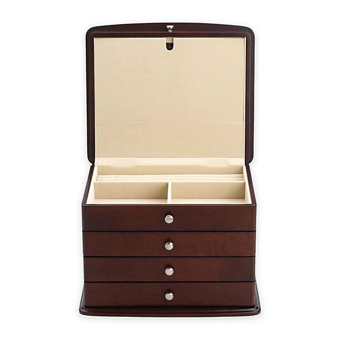 Alternate image 1 for Reed & Barton Sophia Jewelry Chest