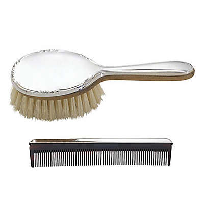 Lunt Silversmiths Carolina Girl's Brush and Comb Set