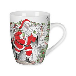 Fitz and Floyd® Vintage Holiday Collection Mugs (Set of 2)