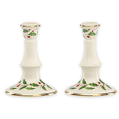 Lenox® Holiday Archive Candlesticks (Set of 2)