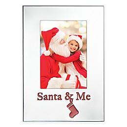 Lenox® Countdown Til Christmas Santa & Me 9.5-Inch Frame