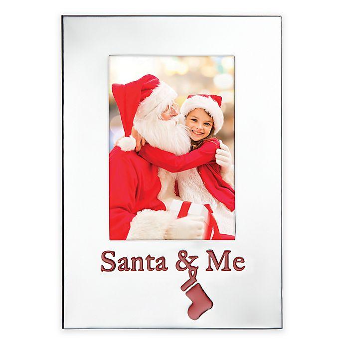 Alternate image 1 for Lenox® Countdown Til Christmas Santa & Me 9.5-Inch Frame