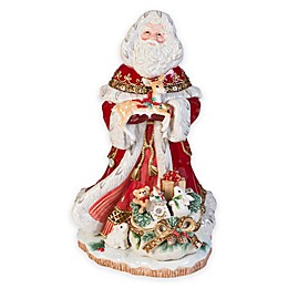Fitz and Floyd® Yuletide Holiday Santa Figurine
