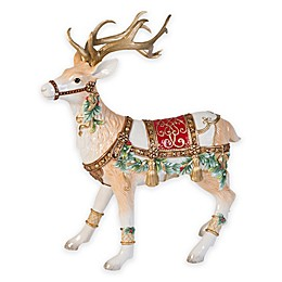 Fitz and Floyd® Yuletide Holiday Deer Figurine