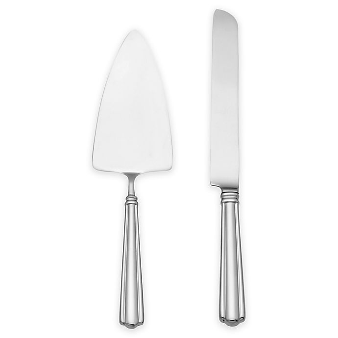 Alternate image 1 for Reed & Barton Preston 2-Piece Cake Knife and Server Set