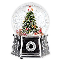 Spode® Christmas Tree Musical Snow Globe