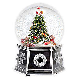 Spode® Christmas Tree Musical Snow Globe
