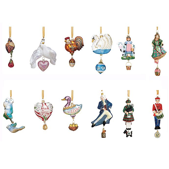 view a larger version of this product image - 12 Days Of Christmas Decorations
