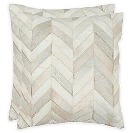 Safavieh Marley 18-Inch Square Throw Pillows (Set of 2)
