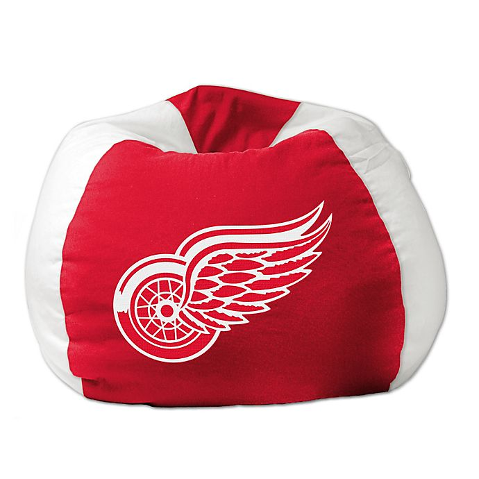 Super Nhl Detroit Red Wings Bean Bag Chair By The Northwest Bed Inzonedesignstudio Interior Chair Design Inzonedesignstudiocom