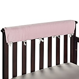 Go Mama Go Luxurious Minky Teething Guards in Pink/Chocolate