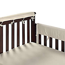 Go Mama Go 30-Inch x 12-Inch Crib Rail Guards in Ivory (Set of 2)