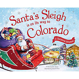 """""""Santa's Sleigh Is On Its Way To Colorado"""" by Eric James"""