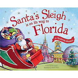 """""""Santa's Sleigh Is On Its Way To Florida"""" by Eric James"""