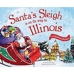 """""""Santa's Sleigh Is On Its Way To Illinois"""" by Eric James"""